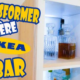 Comment transformer un meuble ikea en bar